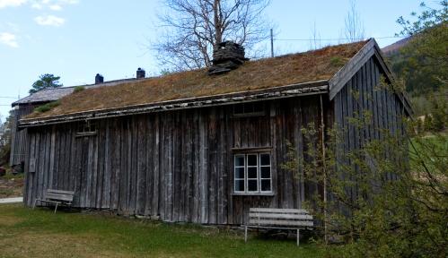 Eldhuset på Jamtjorda, slik det tar seg ut i dag (mai 2013). Foto: Torstein Finnbakk