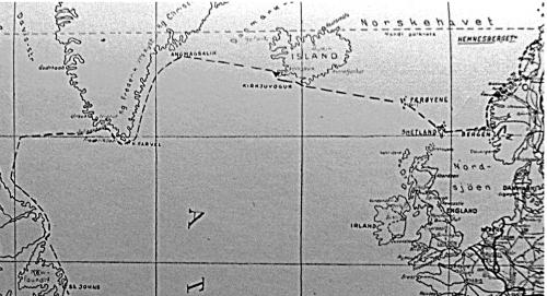 Kart over ferden. Fra boka
