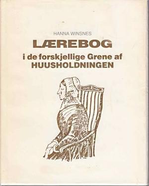Hanna Winsnes' kokebok.